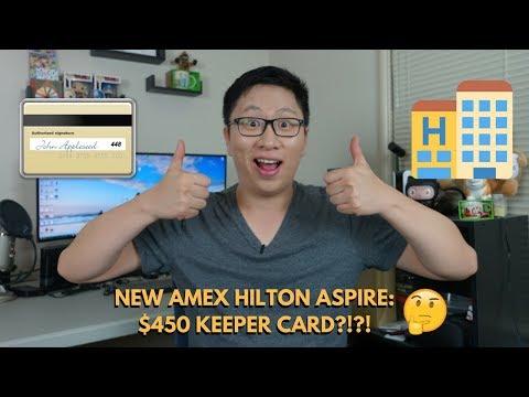 New Amex Hilton Aspire Ascend Keeper Card First Impressions