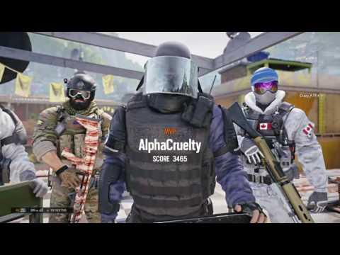 TheMexicanGinger's Live PS4 Broadcast: Rainbow Six: Siege