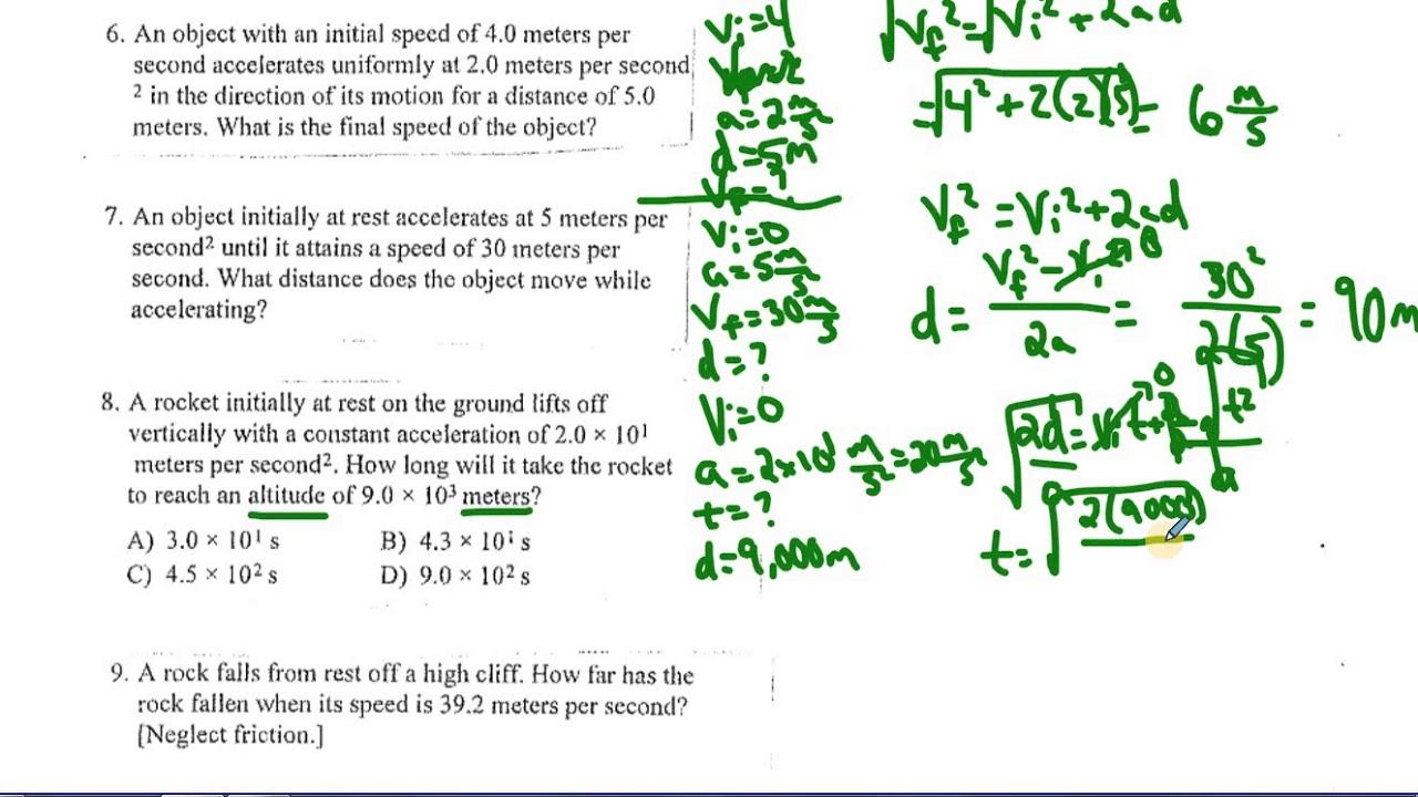 regents physics lab 16 answers