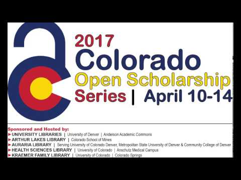 Colorado Open Scholarship Series @ Mines: Open Educational Resources