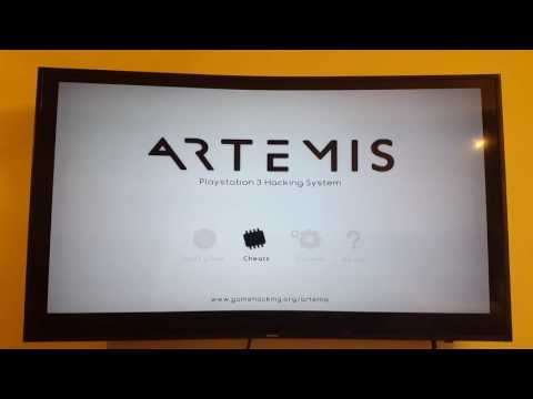 Cheat app for PS3 games Artemis ps3 vr5 haxxxen