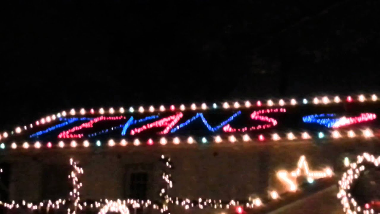 Texans Christmas Lights