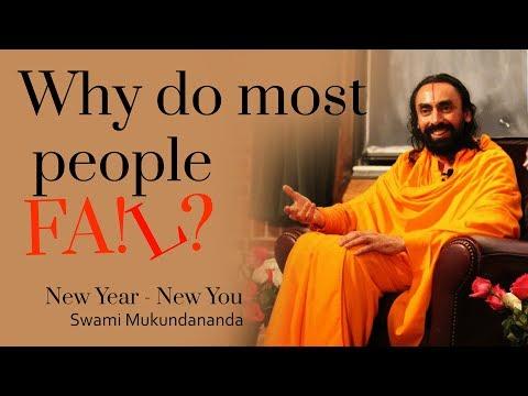 Why Do We Fail to change | New Year New You 2018 - Swami Mukundananda
