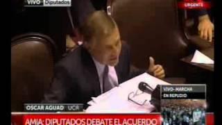 Oscar Aguad rechaza el acuerdo con Iran
