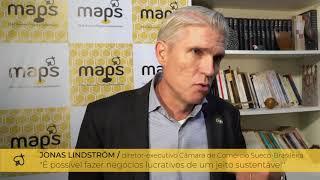 Jonas Lindstrom - Depoimento Lançamento MAPS