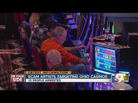 Scam Artists Target Ohio Casinos
