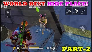 ????????GARENA FREE FIRE WORLD BEST HIDE PLACE(PART-2) | TRICKS&TIPS TAMIL | Gaming Tamizhan