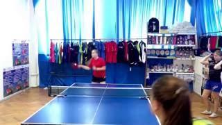 Обучение настольному теннису в Новороссийске 89184369137