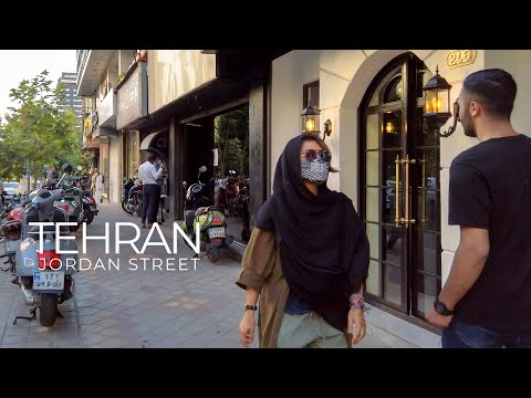 TEHRAN 2021 - Walking on Jordan Street / تهران، خیابان جردن