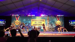 Extreme Pink perfect Day 1 Disney World Allstar Internationals 2015