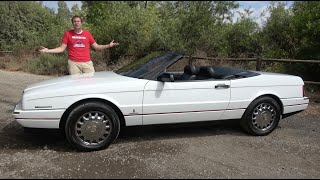 The Cadillac Allante Was a Quirky, Interesting Failure