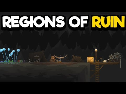 Region of Ruin Gameplay Impressions #2 - Facing the Shaman Deep In The Mountain!