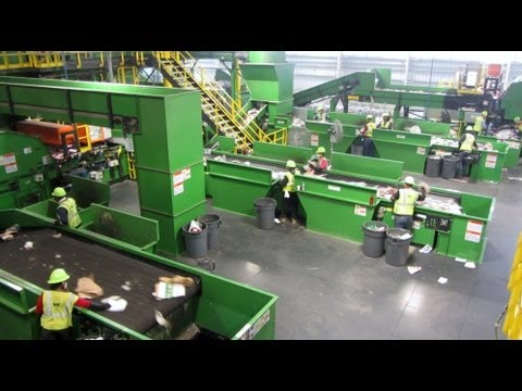 Tour - WM Recycles - Tampa MRF