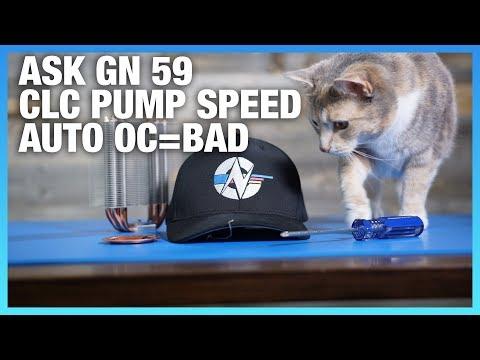 Ask GN 59: Does CLC Pump Speed Matter? Should I Auto OC?