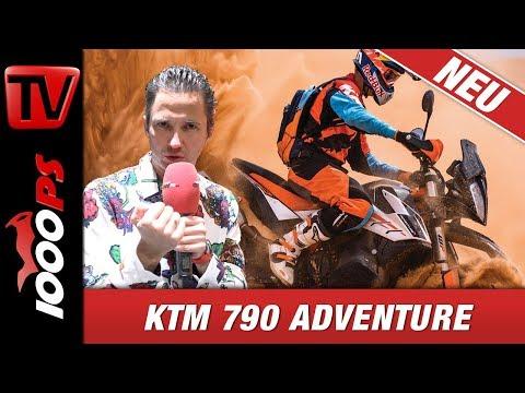 KTM 790 Adventure und Adventure R - Alle Infos zu den KTM Neuheiten 2019 - Technische Daten