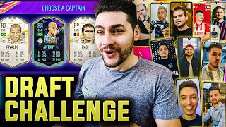 SUN 10 YOUTUBERI SA IMI FACA DRAFTUL IN FIFA 21!!! PLAYER PICK INCREDIBIL IN ACEST SUPER CHALLENGE