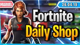 *VERY* RARE GLEITER & AVENGER SKIN IN SHOP - Fortnite Daily Shop (26 April 2019)