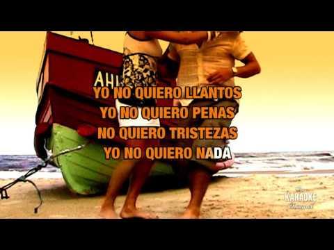 Cruz De Madera in the style of Michael Salgado   Karaoke with Lyrics