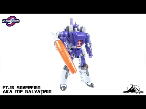 FansToys FT-16 SOVEREIGN (aka MP GALVATRON) Video Review