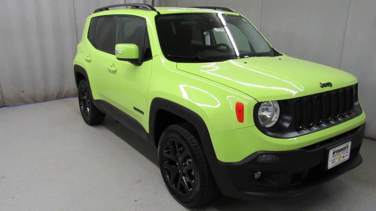 2017 jeep renegade hyper green latitude 14564 youtube. Black Bedroom Furniture Sets. Home Design Ideas