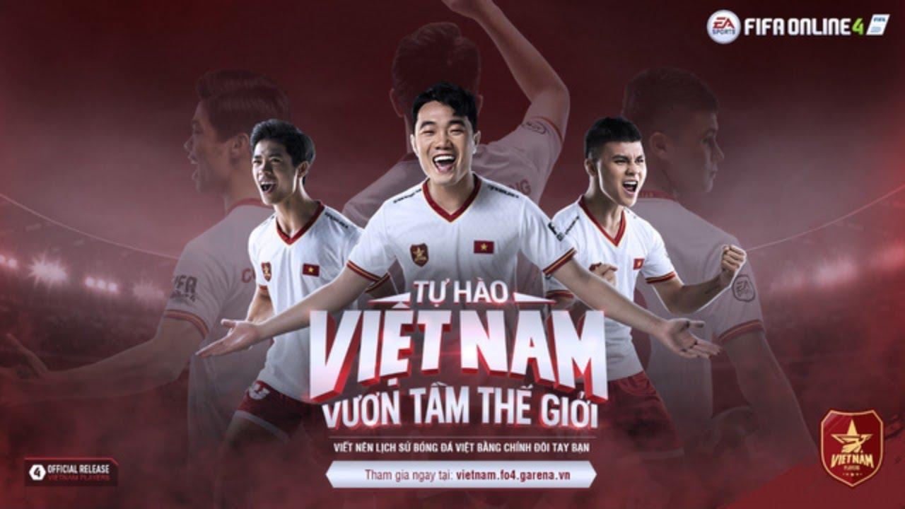 Sau Xuân Trường, Công Phượng có thêm 5 cầu thủ Việt lên FIFA Online 4