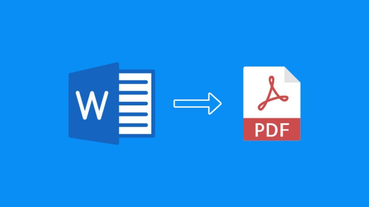 Mengubah word ke pdf program