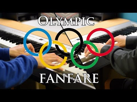 Olympic Fanfare and Theme  / Bugler's Dream by John Williams - Piano Duet
