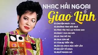 Nữ Hoàng Bolero Giao Linh - Nhạc Vàng Hải Ngoại Trước 1975 Hay Vô Đối