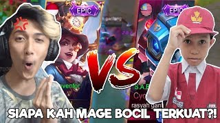Download Video DUEL sama BOCAH SD TOP GLOBAL LAGI! HARLEY vs CYCLOPS SIAPA MAGE TERKUAT?! MP3 3GP MP4