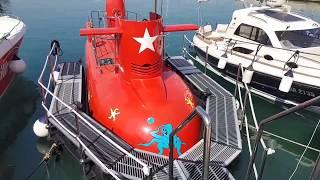 Board submarine for children / Łódź podwodna dla dzieci