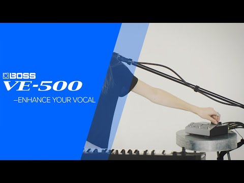 Boss VE-500 Vocal Performer   Sweetwater