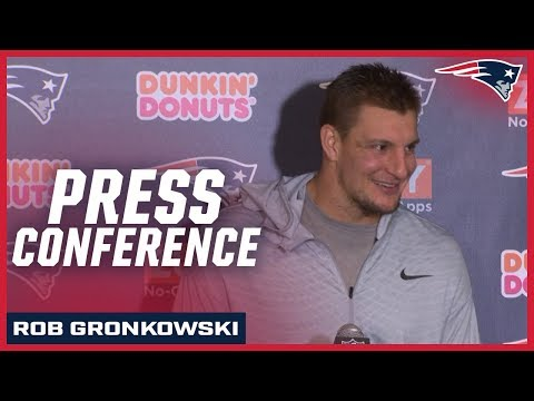 Rob Gronkowski on getting back in the end zone