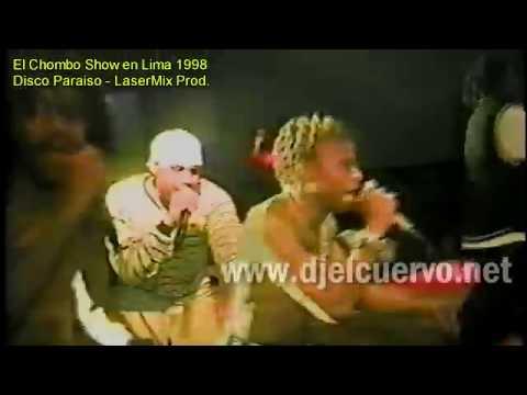 EL CHOMBO Y LOS CUENTOS DE LA CRIPTA 3 EN CONCIERTO LIMA PERU AÑO 98,LASER MIX