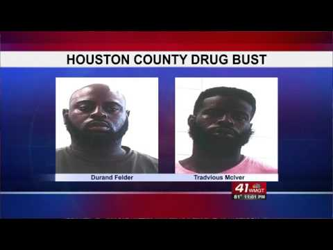 Two men arrested in a Houston County drug bust