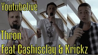 ShimmyMC - Thron II (Feat. Cashisclay & Krickz) (prod. Mikel) Youtubelive 2018