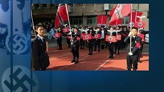 بالفيديو.. استعراض تمثيلي لطلاب ثانوية بتايوان يثير غضب إسرائيل