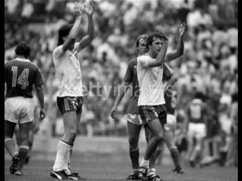 England 1982 world cup - This time (we'll get it right)