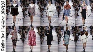 Dior | Осень-Зима 2016/2017 Полный Показ Мод