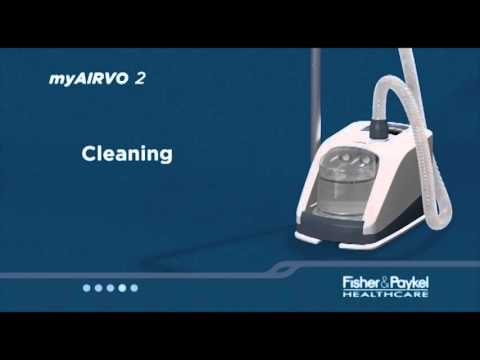 Using myAIRVO 2 with Resusable Water Chamber