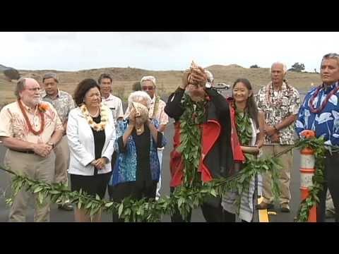 Saddle Road opens new segment, changes name to Daniel K. Inouye Highway