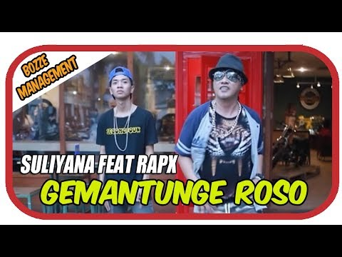 GEMANTUNGE ROSO - SULIYANA FEAT RapX [ KARAOKE VIDEO ]