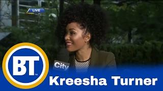 Kreesha Turner hits TIFF for 'King of the Dancehall'