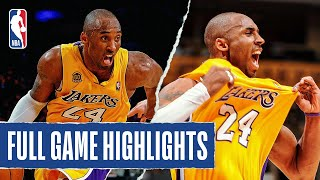 Kobe Bryant Goes OFF, Scores 19 of his 49 PTS in the 4th Quarter!