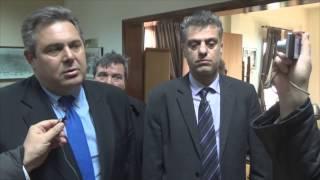Κοινές δηλώσεις Πάνου Καμμένου & Δήμαρχου Ορεστιάδας