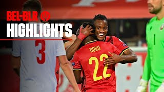 #REDDEVILS | #WorldCup 2022 Qualifiers | Belgium 8-0 Belarus