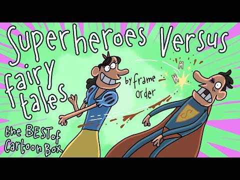 Superheroes VS Fairy Tales | The BEST Of Cartoon Box | By Frame ORDER