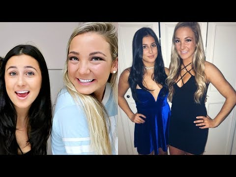 GET READY WITH ME + MY BIG FOR DATE PARTY!