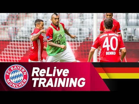 FC Bayern Training at Allianz Arena | ReLive