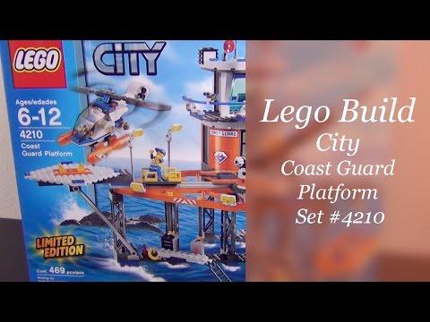 Let's Build - Lego City Coast Guard Platform Set #4210 - Part 1