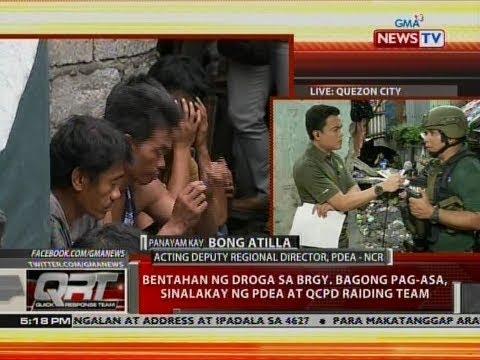 QRT: Bentahan ng droga sa Brgy. Bagong Pagasa, sinalakay ng PDEA at QCPD raiding team
